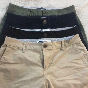 Bundle of 4 size 4 old navy everyday shorts
